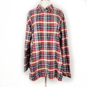 4/20$ 4th July checked plaid flannel Tailored fit